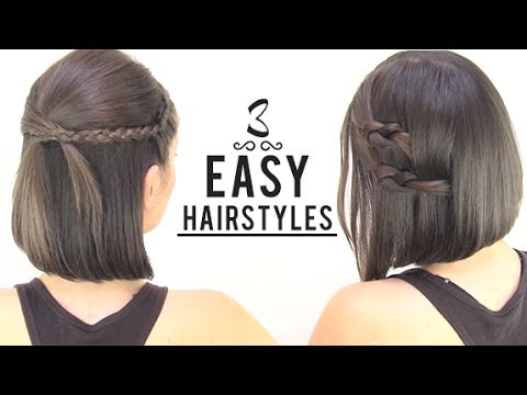 Patryjordan Easy Hairstyles For Short Hair : Download EASY HAIRSTYLES FOR SHORT HAIR Video to 3gp, Mp4, Mp3 ...