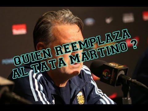 Quien Deberia ser el reemplazante de Gerardo El Tata Martino para la selección Argentina de Futbol ?