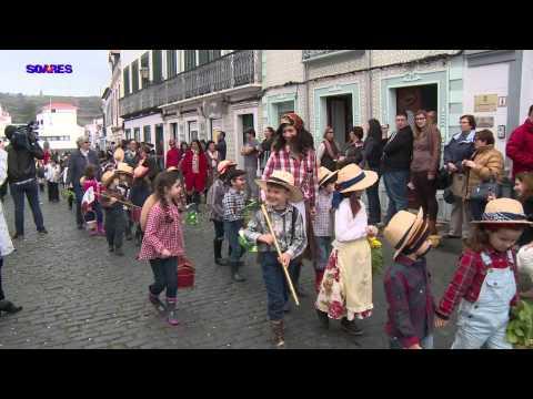 Carnaval da Pequenada na ilha do Faial, A�ores-2014