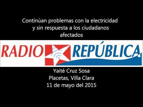 Continúan problemas con la electricidad en Cuba sin solución