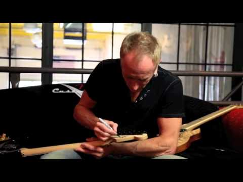 Phil Collen on my guitar