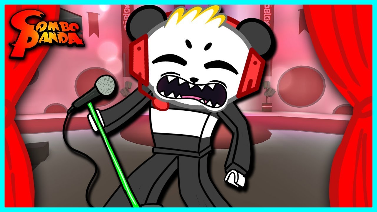 Roblox Got Talent SINGING FAIL Let's Play with Combo Panda
