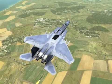 дуэль F-15 vs Су-27 (ГС 3)
