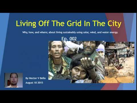 Living Off The Grid In The City Ep002