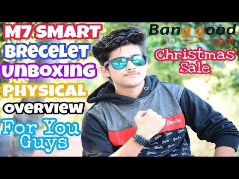 LYNWO M7  Smart Watch Unboxing | Physical OverView | Christmas Sale Must Watch
