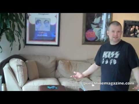 Jim Norton apartment tour
