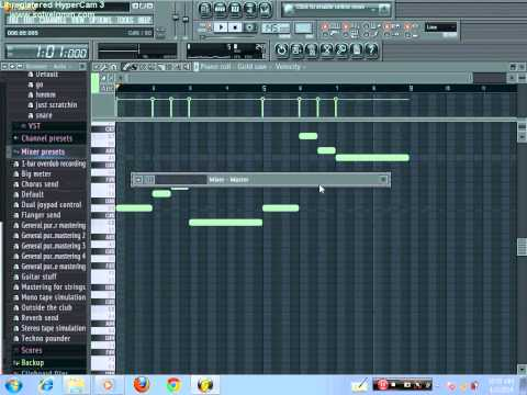 ASKING ALEXANDRIA Alerion (FL studio Synth Cover)