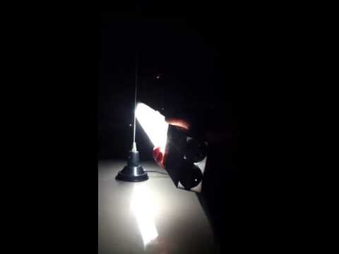 Wireless lighting  --   ham radio style