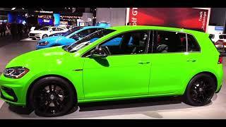 2019 Volkswagen Golf R   Exterior and Interior Walkaround & First Look  Auto Show