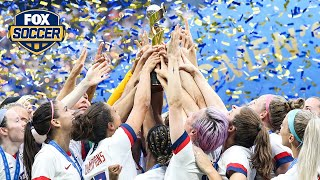 USWNT's triumph can be a gateway for new soccer fans | ALEXI LALAS' STATE OF THE UNION PODCAST