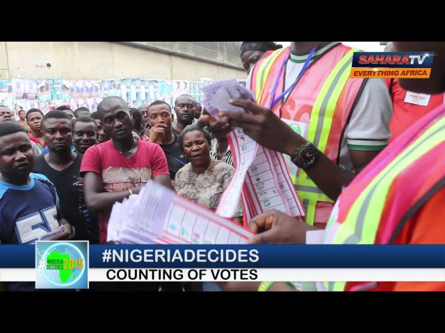 #NigeriaDecides Vote Counting 3