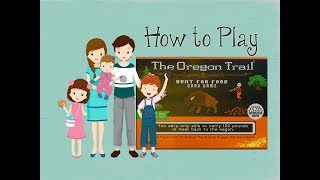 The Oregon Trail Hunt for Food Card Game - How to Play