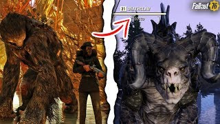 Fallout 76 - HOW TO TAME CREATURES AS YOUR PETS! Secret Perk, Friendly Deathclaw, Mega Sloth, & More