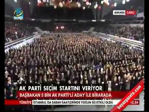 Ak Parti Uğur Işılak 2014 Yeni Seçim Şarkısı Recep Tayyip Erdoğan Dombıra Tamamı