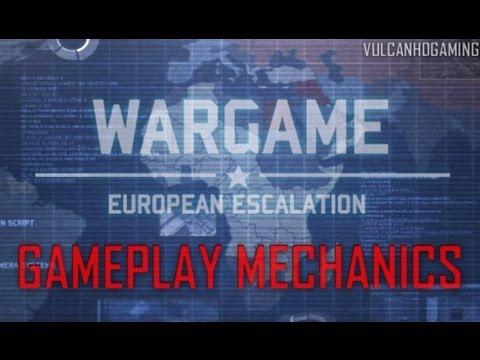 Wargame: European Escalation Tutorial #2 Gameplay Mechanics