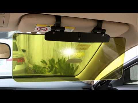 Солнцезащитный козырёк в авто своими руками