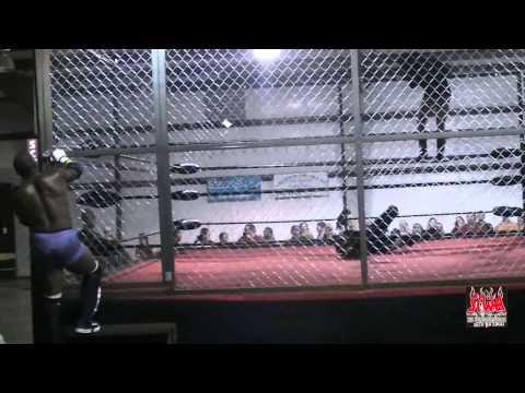 SCWA Tag Title Match CAGED 2011 - Black Knightz(c) vs Ratt Pack
