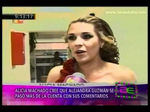 America Espectaculos 21-06-2011 Alicia Machado Cree Que Alejandra Guzman Se Paso En Comentarios video