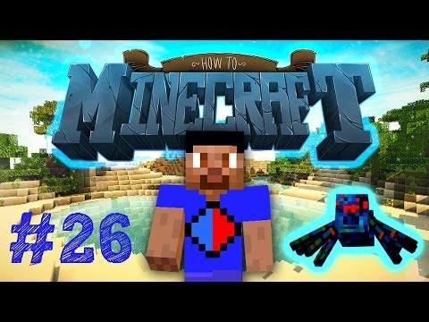 Minecraft SMP: HOW TO MINECRAFT #26 CAVE SPIDER GRINDER! with Vikkstar