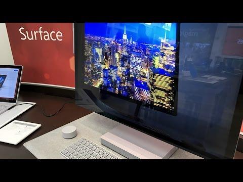 Microsoft Surface Studio - Quick Look