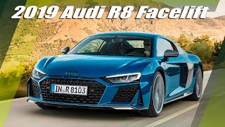 New 2019 Audi R8 Facelift Overview