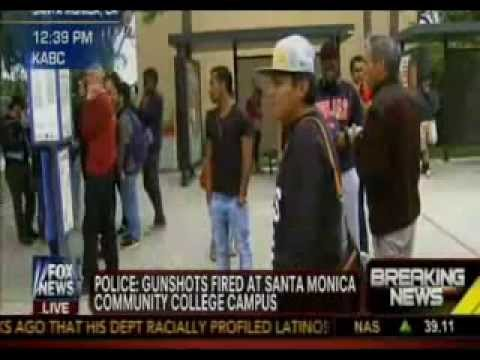 Breaking: Santa Monica College Shooting, Multiple Shot few blocks away Pres. Obama's Meeting