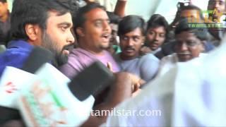 Tharai Thappattai Movie First Day Celebration