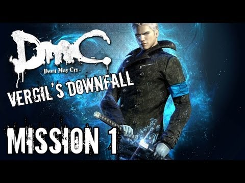 Devil May Cry - Vergil's Downfall - Mission 1 Playthrough True-hd Quality video