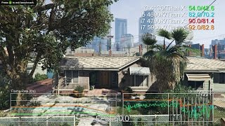Grand Theft Auto 5 PC CPU Test: i3 4130 vs i5 4690K vs i7 4790K vs i7 5960X