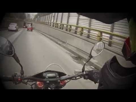 Daily supermoto adventures in Mexico City