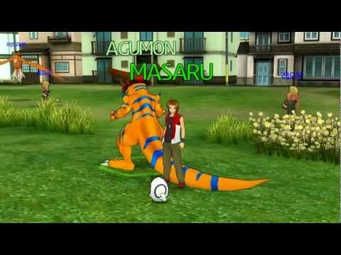 HD 1080p Digimon Masters Online - Partner Digimons (Trailer+...