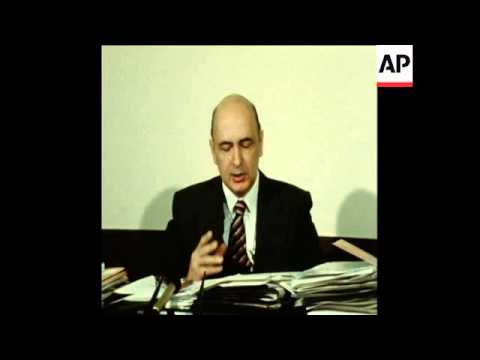 UPITN 24 2 79 INTERVIEW WITH GIORGIO NAPOLITANO OF THE ITALIAN COMMUNIST PARTY IN ROME