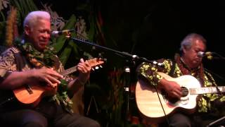 """Mom/God Bless My Daddy"", Performed By Richard Ho'opi'i With George Kahumoku, Jr"