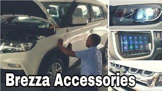 Maruti Suzuki Brezza Accessories!