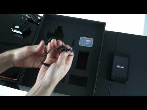 LG Optimus Black P970: Unboxing video