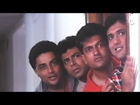 Govinda Mohnish Bahl Anupam Kher  - Shola Aur Shabnam Comedy...