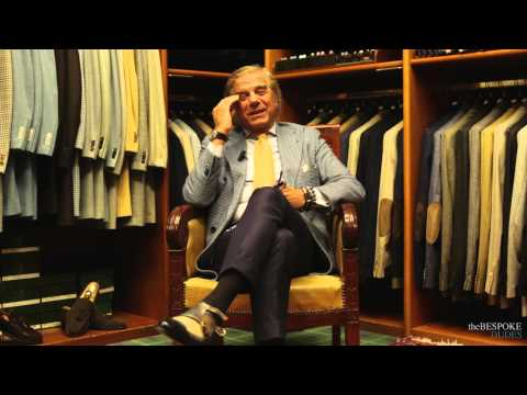 Lino Ieluzzi interviewed by Fabio Attanasio of The Bespoke Dudes