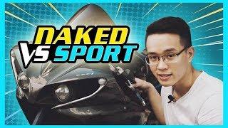 PKL - Chọn mua xe mô tô Naked hay Sport?