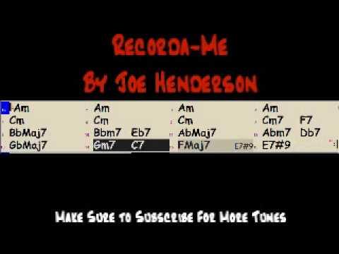 Tune List: Recorda-Me (Erik Hughes- Jazz Trombone)