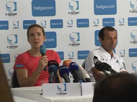 Retired tennis champion Henin announces comeback