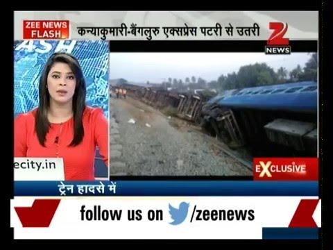 Tamil Nadu: Kanyakumari-Bangalore Express derails near Tirupathur