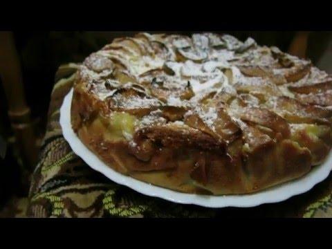 Обалденный яблочный пирог!!! Прям тает во рту!!!