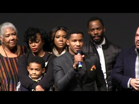 """The Birth of a Nation"" Premiere- Complete, Uncut Q&A @ The Sundance Film Fest 1-25-16"