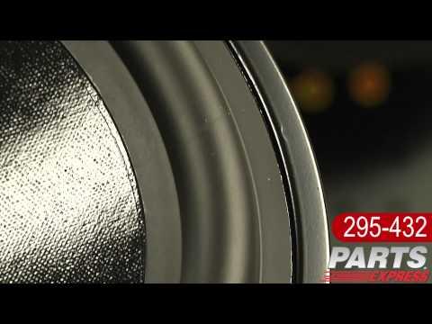 """Dayton Audio DS270-8 10"""" Designer Series Woofer Speaker"""