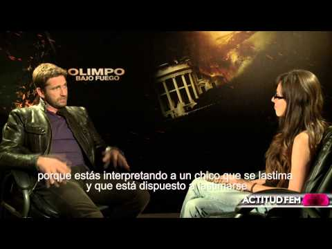 Entrevista con Gerard Butler en 