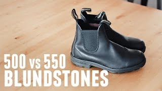 Blundstone Boots Review: Original 500 vs Super 550 — HD