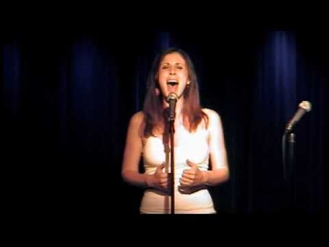 Anna Ty Bergman sings Two Little Lines by Drew Gasparini