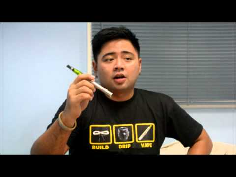 Ecigarette for beginners passthrough eGo-V review (variable voltage)