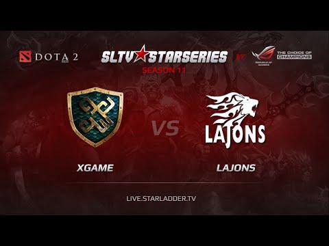 xGamekz vs Lajons SLTV Europe Season 11 Day 20