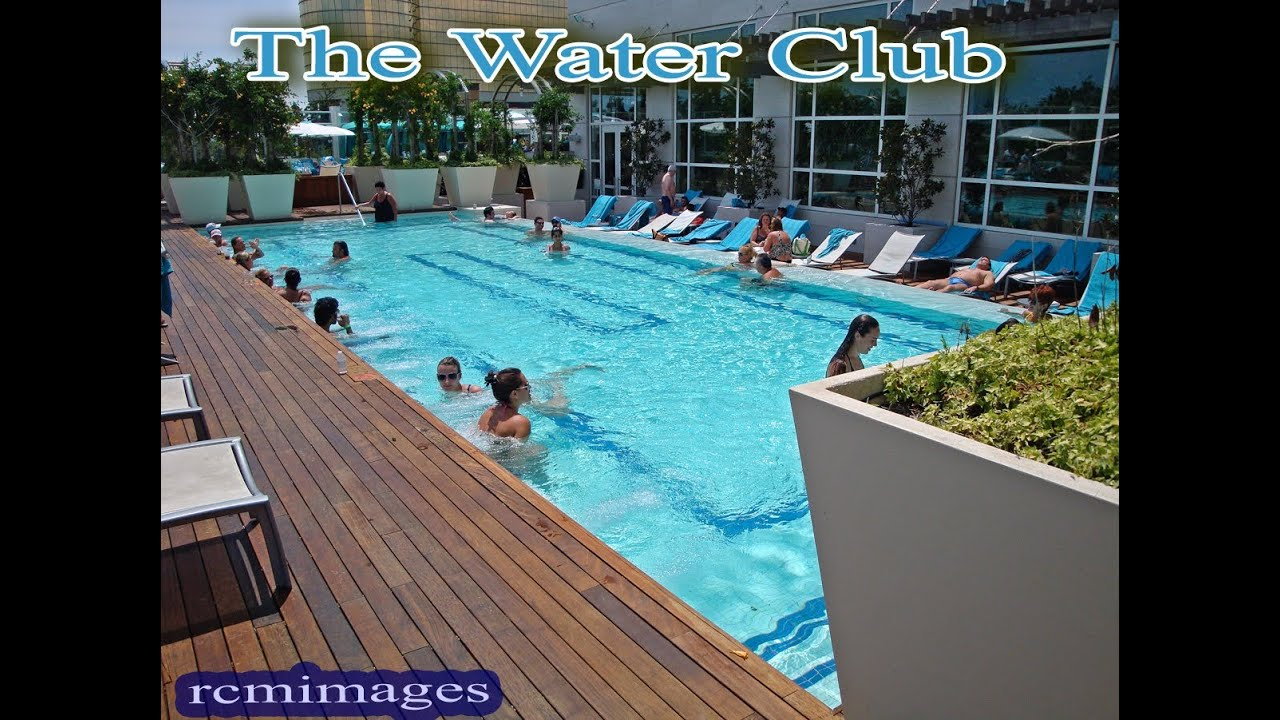 The water club by borgata adults only outdoor pools for Pool show new jersey